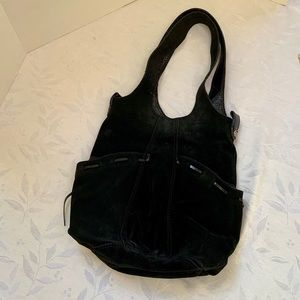 Lucky brand 100% leather/suede purse